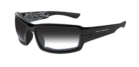 Harley-Davidson Men's Cruise Light Adjust Smoke Gray Lens Sunglasses HDCRS05 - Wisconsin Harley-Davidson