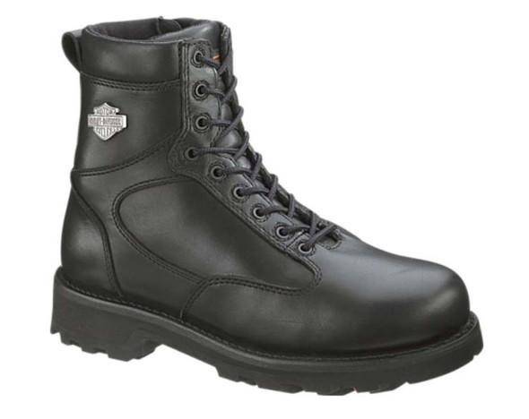 Harley-Davidson Men's Relief Shock Aborber Black Motorcycle Boots D93074 - Wisconsin Harley-Davidson