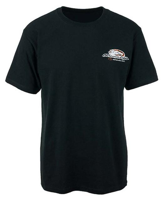 Harley-Davidson Screamin' Eagle Men's Distressed Pieces Black T-Shirt HARLMT0197 - Wisconsin Harley-Davidson