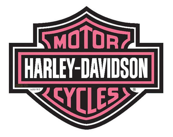 Harley-Davidson Bar & Shield Cut Out Pink Mouse Pad. MO30207 - Wisconsin Harley-Davidson