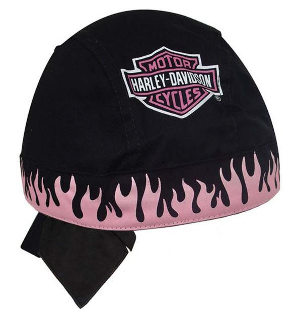 Harley-Davidson Pink Flames Bar & Shield Head Wrap H630230 - Wisconsin Harley-Davidson