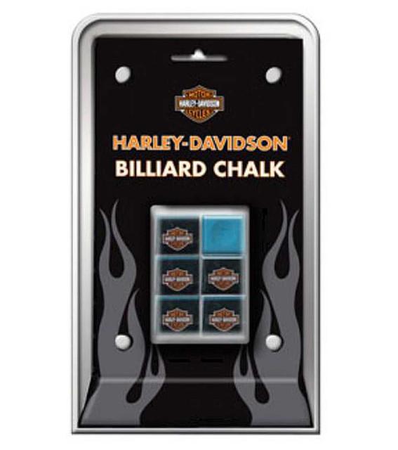 Harley-Davidson Billiard Chalk  Pool Blue HDL-11131 - Wisconsin Harley-Davidson