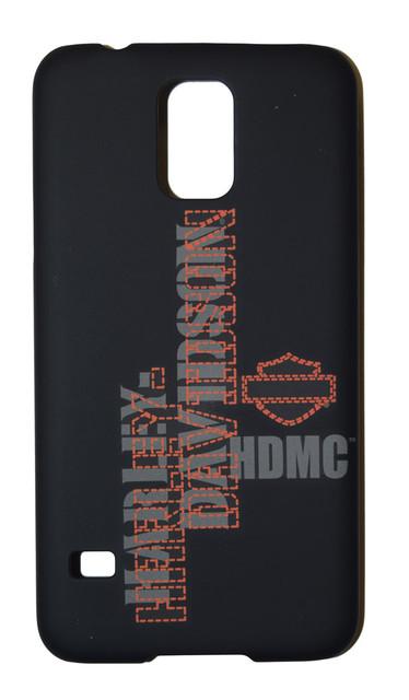 Harley-Davidson Phone Shell, HDMC B&S Samsung Galaxy S5 Compatible, Black 06919 - Wisconsin Harley-Davidson