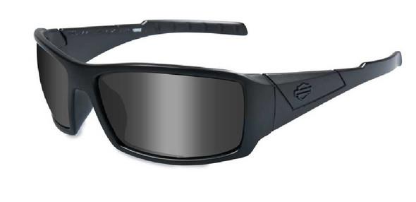 Harley-Davidson Twisted Grey Lens w/ Matte Black Frame Sunglasses HDTWI01 - Wisconsin Harley-Davidson