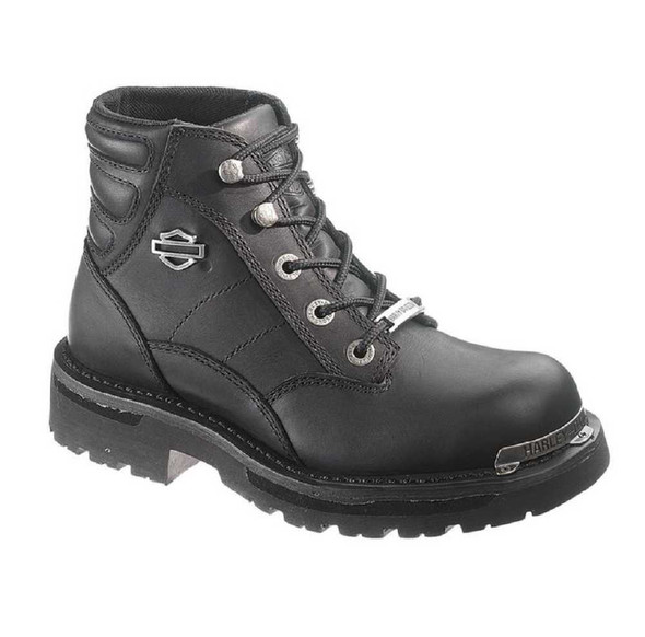Harley-Davidson Women's Irma Black Boots. Laced Up Boot D87030 - Wisconsin Harley-Davidson