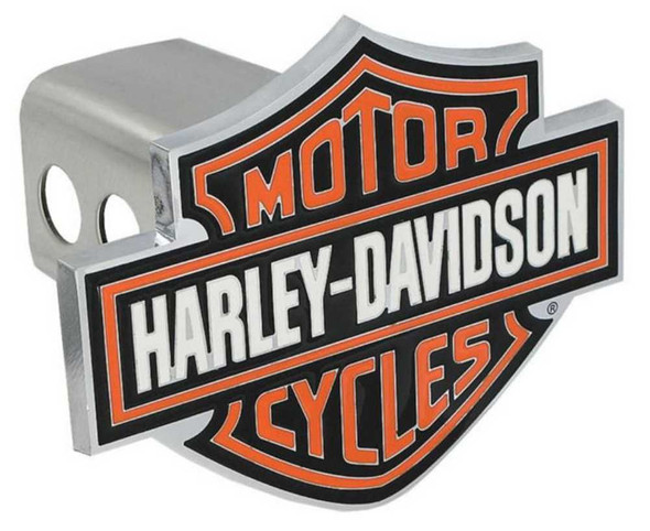 Harley-Davidson Orange Bar & Shield Trailer Hitch Cover 2'' HDHC25 - Wisconsin Harley-Davidson