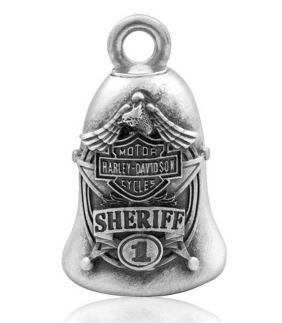 Harley-Davidson Bar & Shield Eagle Sheriff Ride Bell HRB062 - Wisconsin Harley-Davidson