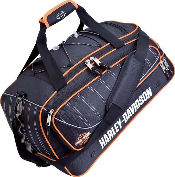 Harley-Davidson 21'' Black Carry-On Tank Duffel, Backpack straps 99421 - Wisconsin Harley-Davidson