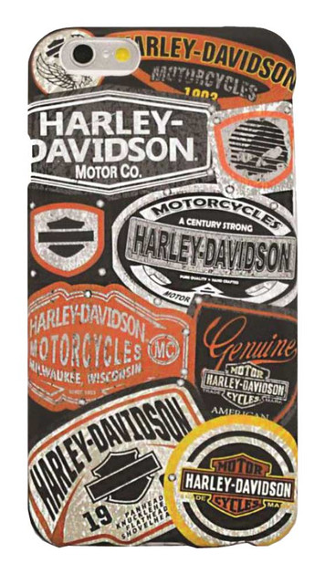 Harley-Davidson Men's Allover Printed H-D Logos iPhone 6 Phone Shell 7796 - Wisconsin Harley-Davidson
