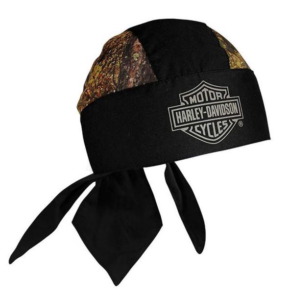 Harley-Davidson Bar & Shield Head Wrap Camouflage & Black HW30225 - Wisconsin Harley-Davidson