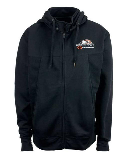 Harley-Davidson Screamin' Eagle Men's Jacket, Lightweight, Black HARLMJ0021 - Wisconsin Harley-Davidson