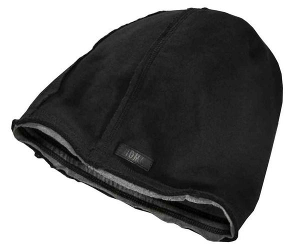 Harley-Davidson Men's Patch Knit Slouch Rugged Beanie Hat, Black 97676-16VM - Wisconsin Harley-Davidson