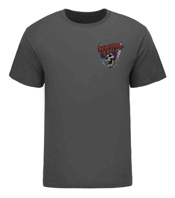 Harley-Davidson Men's Screamin' Eagle American Wings T-Shirt, Gray HARLMT0238 - Wisconsin Harley-Davidson