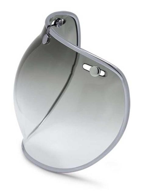 Harley-Davidson Replacement 3-Snap Face Shield, Fits BELL B01, Smoke 98314-14VR - Wisconsin Harley-Davidson