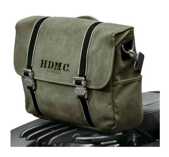 Harley-Davidson HDMC Messenger Bag, Water-Resistant, Army Green 93300101 - Wisconsin Harley-Davidson