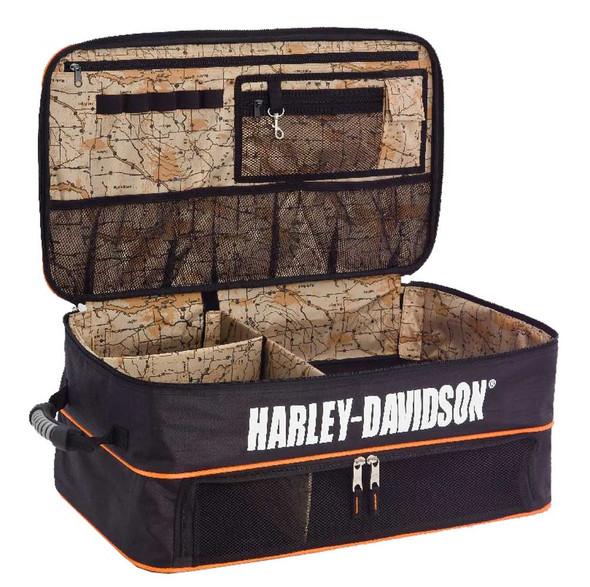 Harley-Davidson Bar & Shield Trunk Locker Organizer, 10 x 24 x 14 inches 99615 - Wisconsin Harley-Davidson