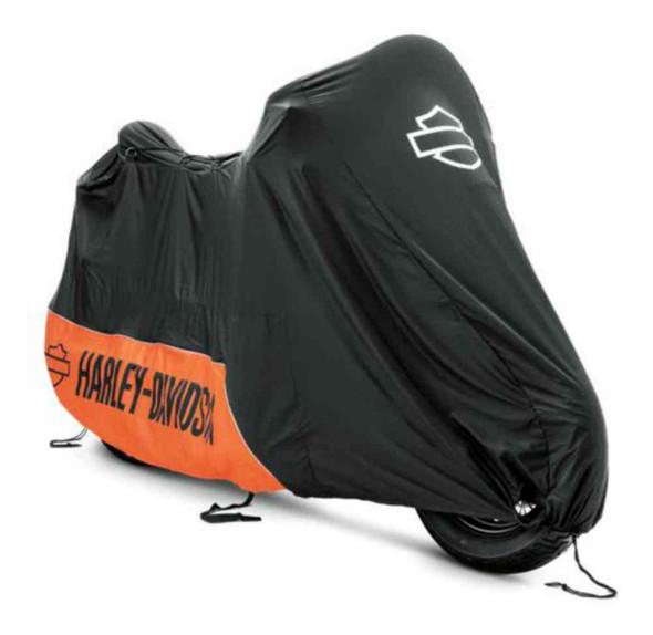 Harley-Davidson Indoor Motorcycle Cover, Fits VRSC, Dyna & Softail 93100019 - Wisconsin Harley-Davidson