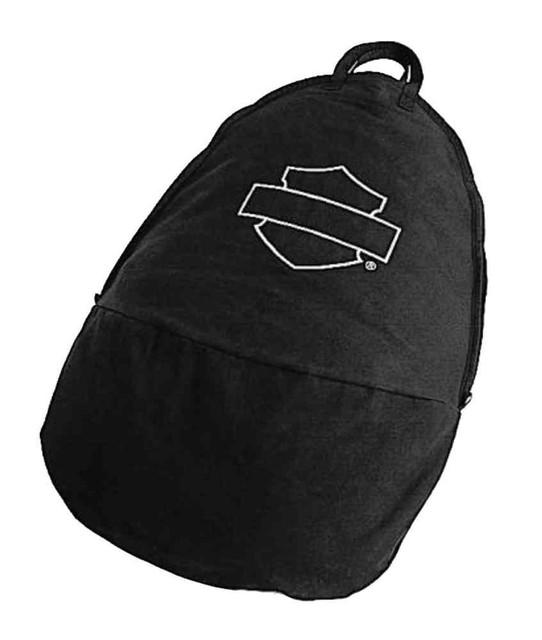 Harley-Davidson Cotton Windshield Storage Bag, Fits All HD Windshields 95982-98B - Wisconsin Harley-Davidson