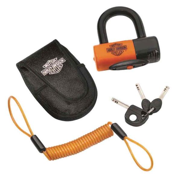 Harley-Davidson Shackle Lock Kit, Secure Brake Disc or Sprocket 94868-10 - Wisconsin Harley-Davidson