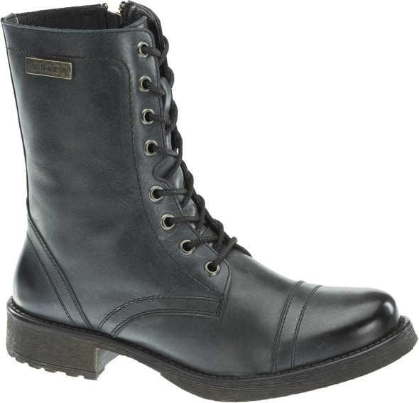 Harley-Davidson Women's Arcola 7-In Motorcycle Boots. Ash Grey or Brown D83845 - Wisconsin Harley-Davidson
