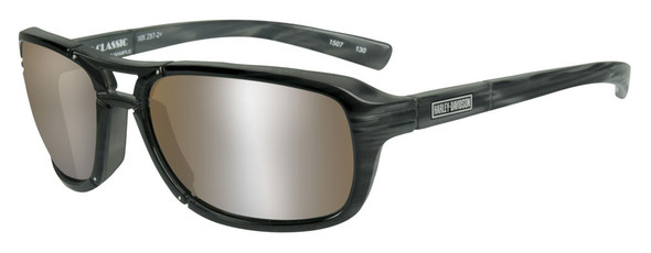 Harley-Davidson Men's Classic Sunglasses, Copper Lens / Tortoise Frame HRCLA06 - Wisconsin Harley-Davidson