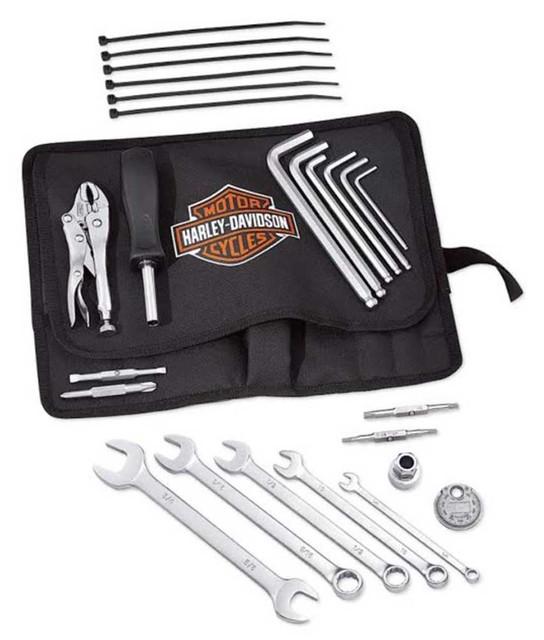 Harley-Davidson Carry-Along B&S Tool Kit, Functional & Light-Weight 94819-02 - Wisconsin Harley-Davidson
