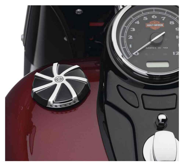 Harley-Davidson Agitator LED Fuel Gauge, Fits Dyna, Softail & Touring 70900521 - Wisconsin Harley-Davidson