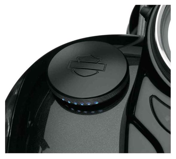 Harley-Davidson Diamond Black LED Fuel Gauge, Dyna, Softail & Touring 75358-10A - Wisconsin Harley-Davidson