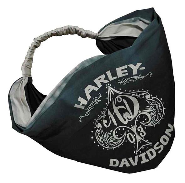 Harley-Davidson Women's Spade Ombre Woven Headband, Stormy Sea 97753-17VW - Wisconsin Harley-Davidson