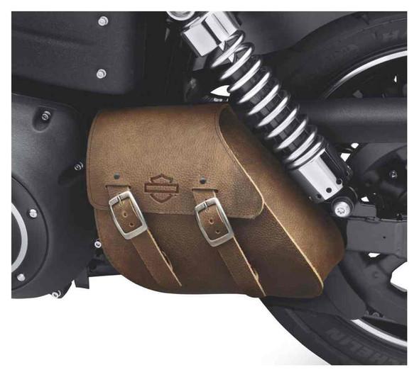 Harley-Davidson Single-Sided Swingarm Bag, Fits Dyna Model w/ Solo Seat 90200571 - Wisconsin Harley-Davidson