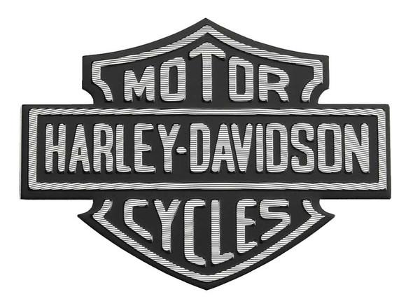 Harley-Davidson Metal Adhesive-Backed Bar & Shield Logo Medallion 99352-82Z - Wisconsin Harley-Davidson