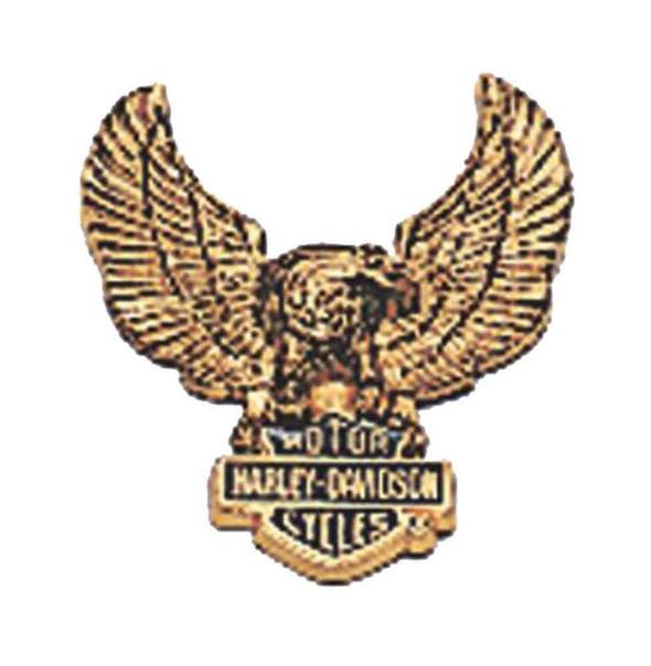 Harley-Davidson Eagle Bar & Shield Logo Self-Adhesive Medallion, Small 91810-85 - Wisconsin Harley-Davidson