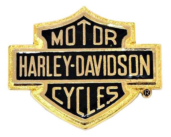 Harley-Davidson Bar & Shield Logo Self-Adhesive Medallion, Small 91816-85 - Wisconsin Harley-Davidson