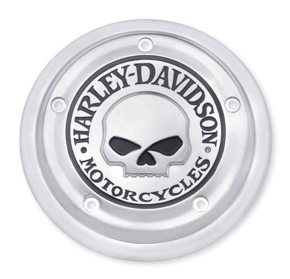 Harley-Davidson Willie G Skull Air Cleaner Trim, Fits FLS & FXS Models 61400007 - Wisconsin Harley-Davidson