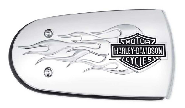 Harley-Davidson B&S Flames Air Cleaner Trim, Fits Softail & Etc. Models 61300221 - Wisconsin Harley-Davidson
