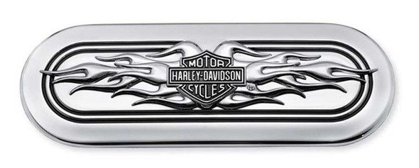 Harley-Davidson B&S Flames Transmission End Cover Trim, Twin-Cam Models 60845-11 - Wisconsin Harley-Davidson