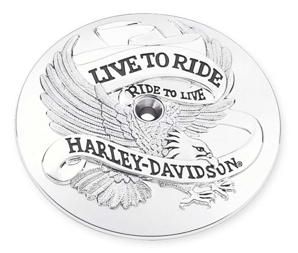 Harley-Davidson® Live to Ride Air Cleaner Trim, Fits Dyna