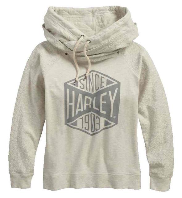 Harley-Davidson Women's Black Label Core Since 1903 Pullover Hoodie 99187-17VW - Wisconsin Harley-Davidson