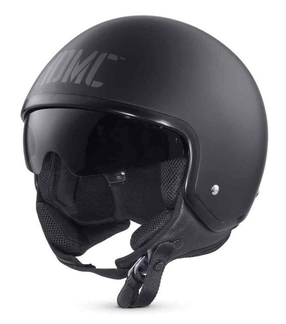 Harley-Davidson Men's Collins Sun Shield M03 5/8 Helmet, Matte Black 98307-17VX - Wisconsin Harley-Davidson