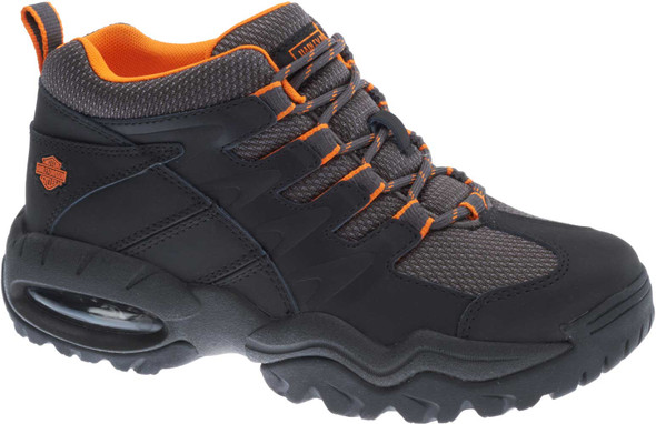 Harley-Davidson Men's Jett Leather and Nylon Athletic Hiking Boots D93391 - Wisconsin Harley-Davidson