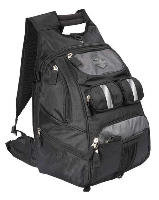Harley-Davidson All Terrain Backpack, Lightweight & Water-Resistant 99413-BLACK - Wisconsin Harley-Davidson