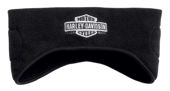 Harley-Davidson Men's Bar & Shield Wind-Resistant Ear Warmer, Black 97646-17VM - Wisconsin Harley-Davidson