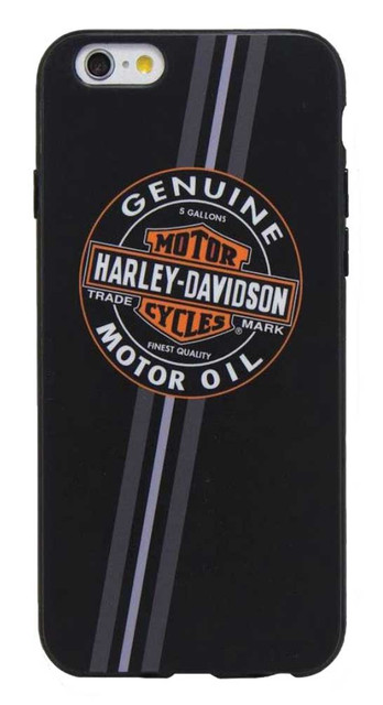 Harley-Davidson Men's Genuine Motor Oil B&S iPhone 6/6S Phone Shell, Black 7821 - Wisconsin Harley-Davidson