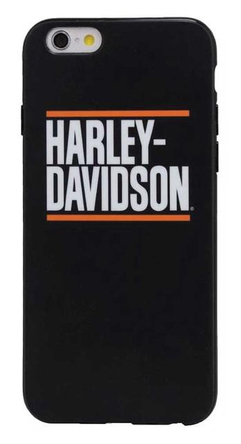 Harley-Davidson Men's H-D Block Script iPhone 7 Phone Shell, Black 7820 - Wisconsin Harley-Davidson