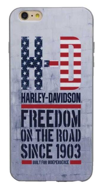 Harley-Davidson Men's Americana H-D Script iPhone 7 Plus Phone Shell 7822 - Wisconsin Harley-Davidson
