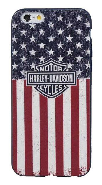 Harley-Davidson Men's Americana Bar & Shield Flag iPhone 6/6S Phone Shell 7844 - Wisconsin Harley-Davidson