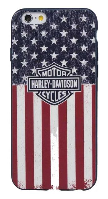 Harley-Davidson Men's Americana Bar & Shield Flag iPhone 7 Phone Shell 7823 - Wisconsin Harley-Davidson