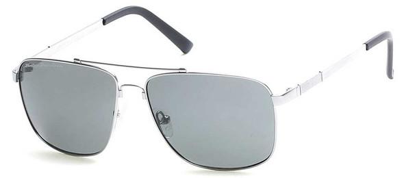Harley-Davidson Men's Memory Metal Sunglasses, Gunmetal Frame & Green Lenses - Wisconsin Harley-Davidson