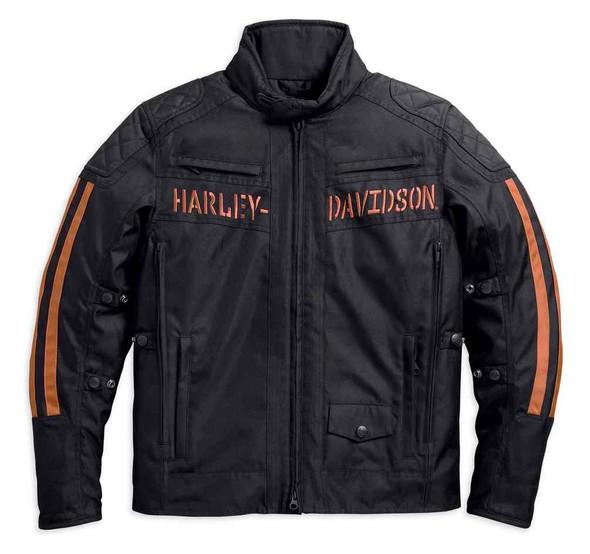 Harley-Davidson Men's Versatile Foley Waterproof Riding Jacket, Black 97158-17VM - Wisconsin Harley-Davidson