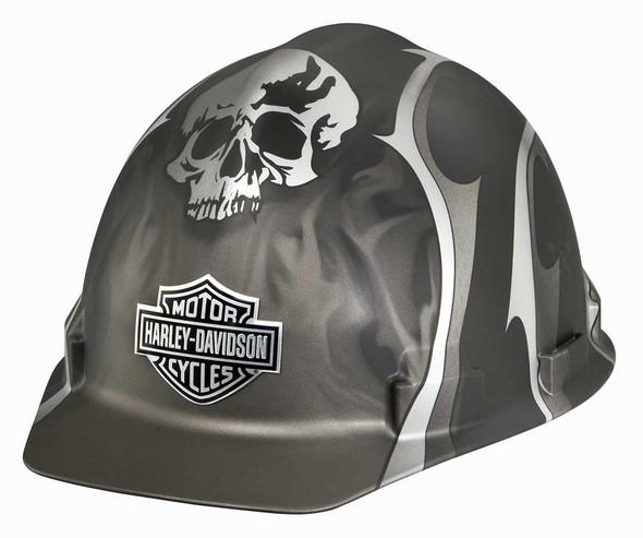 Harley-Davidson Skull Bar & Shield Safety Hard Hat, Matte Black Edition HDHHAT35 - Wisconsin Harley-Davidson